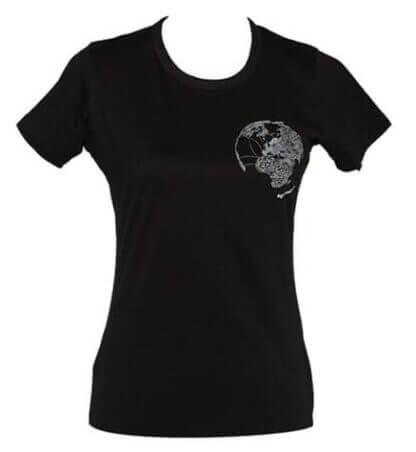 Festspel-t-skjorta 2013 - Dame svart