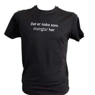 Festspel-t-skjorta 2018 uni svart