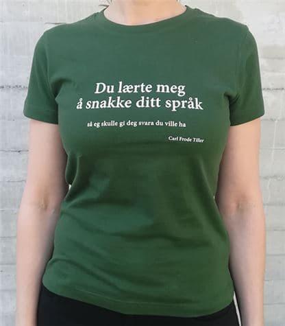 Festspel-t-skjorta 2019 dame grøn