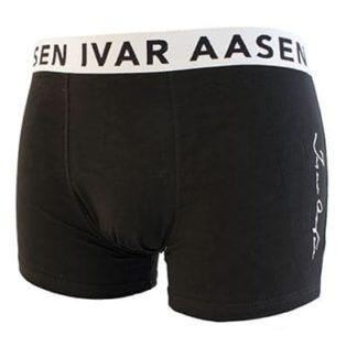 Ivar Aasen-boksar herre svart