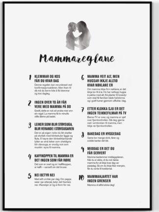 Mammareglane – plakat